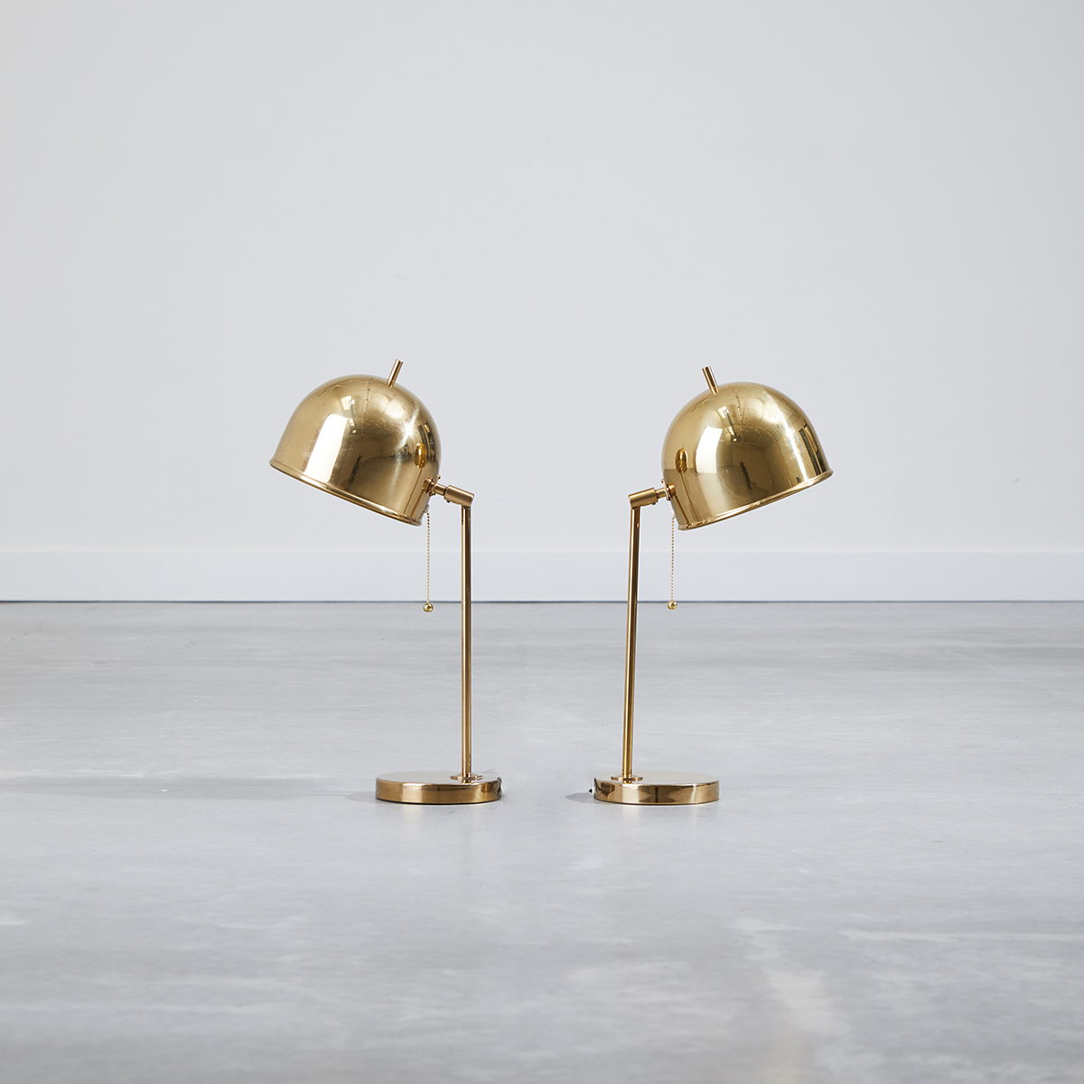 Pair of Kuppel Table Lamps by Bergboms