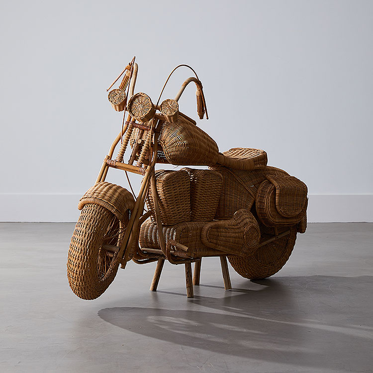Wicker Motorcycle
