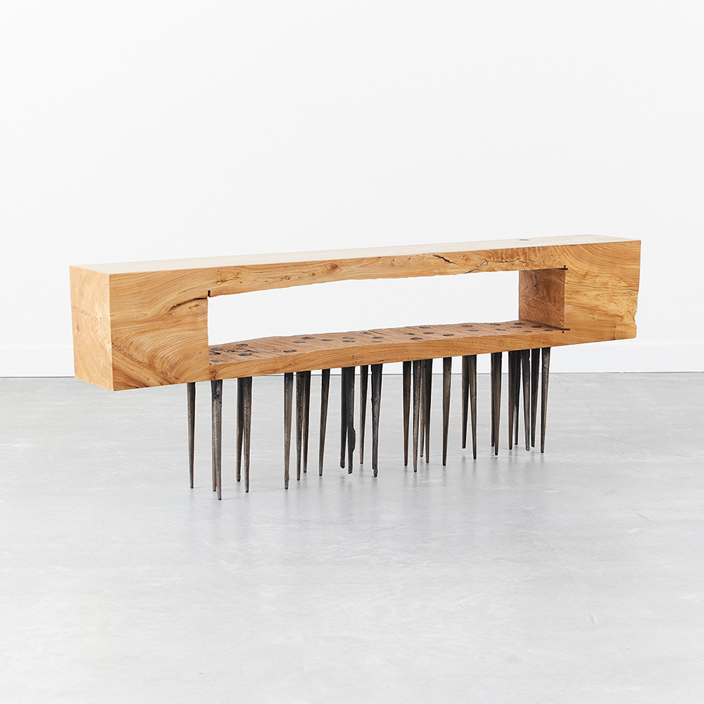 Nail Brush Console Table by Harry Siter