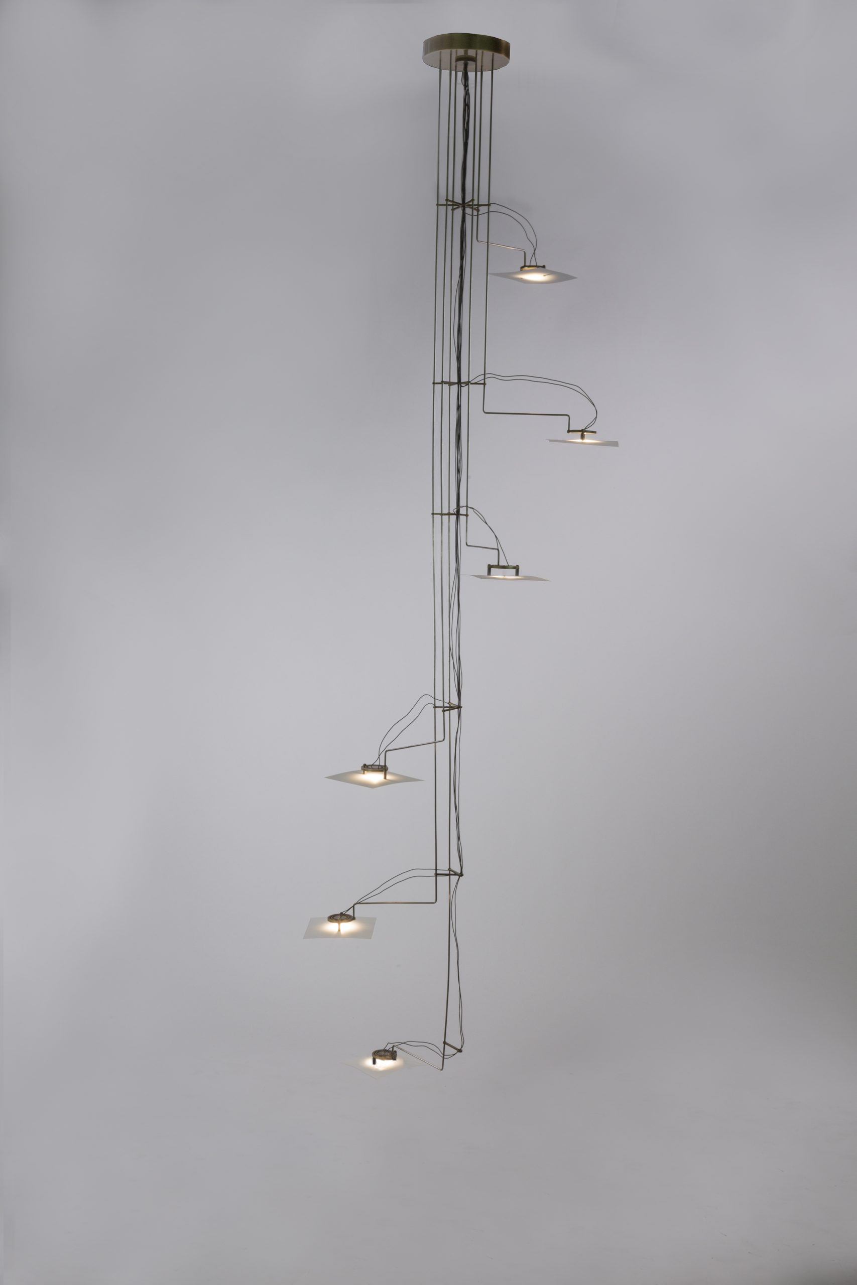 Folio Chandelier by Gentner