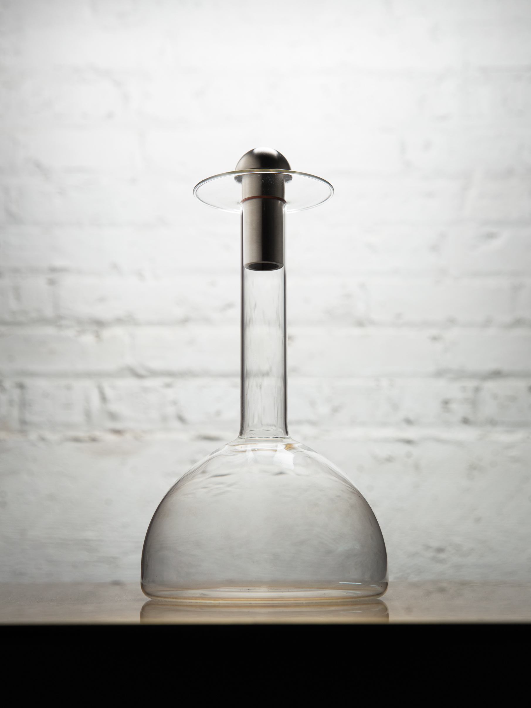 Glass Decanter by Gentner