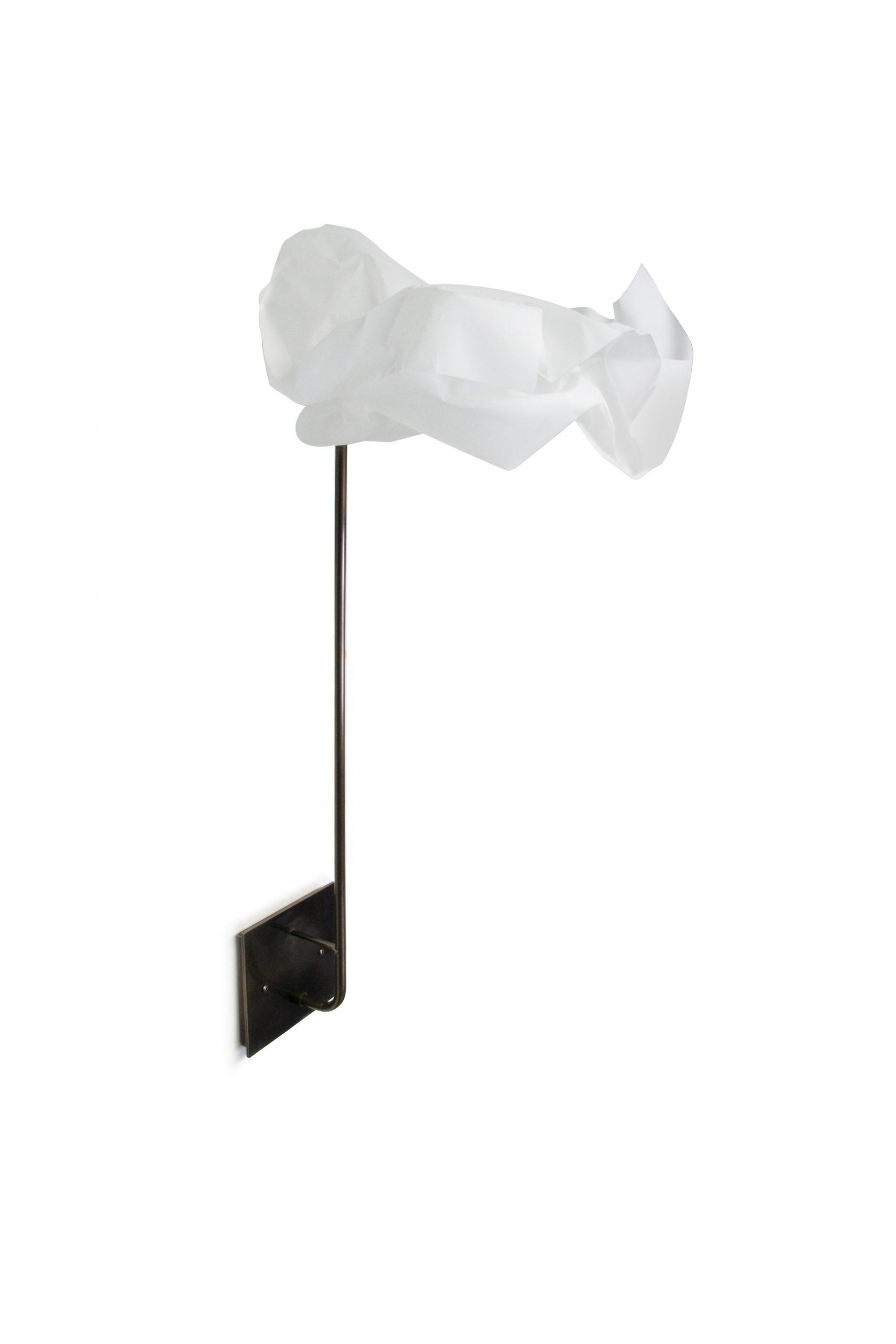 Paper Wall Sconce by Gentner