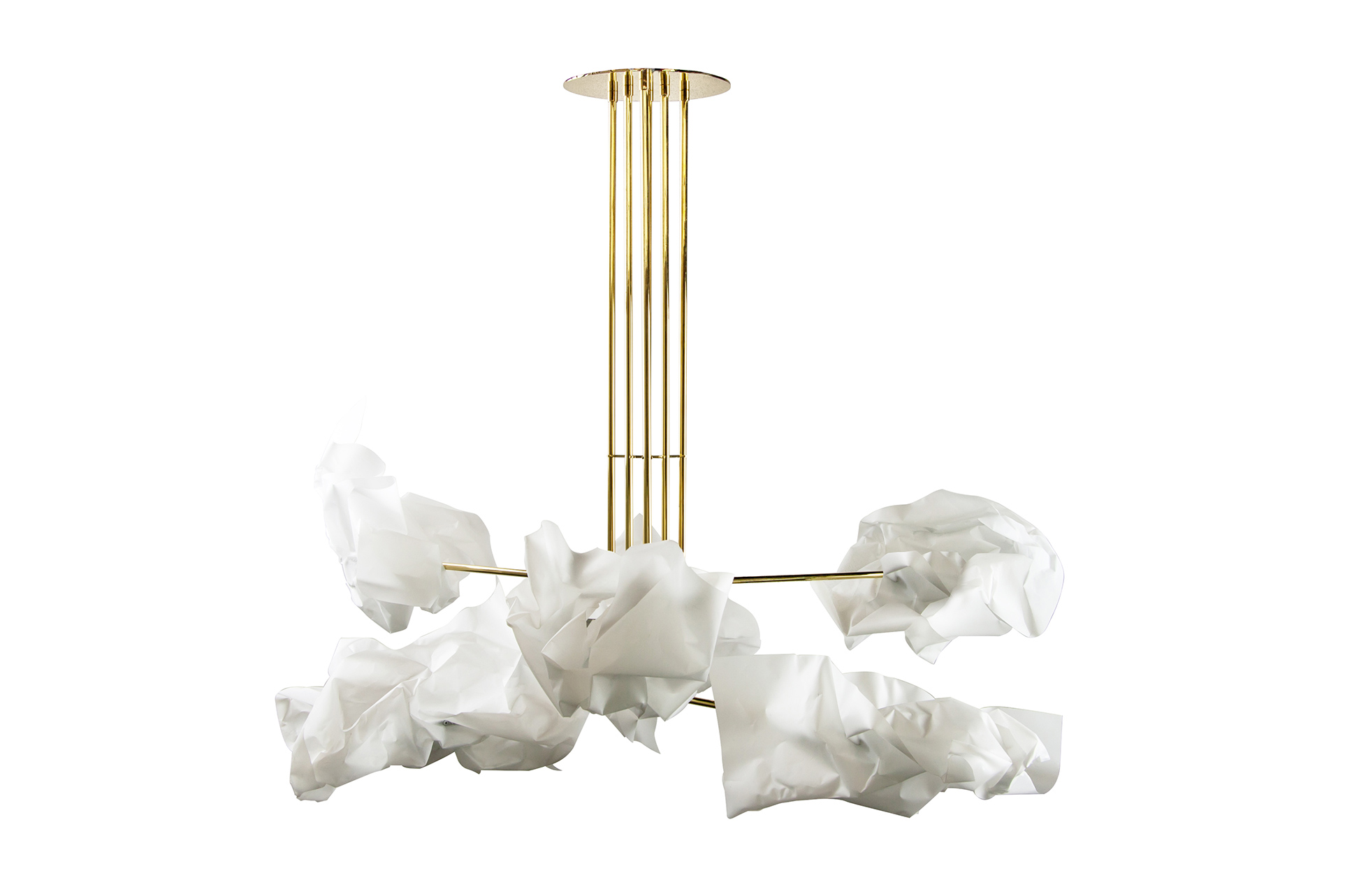 Paper Chandelier by Gentner