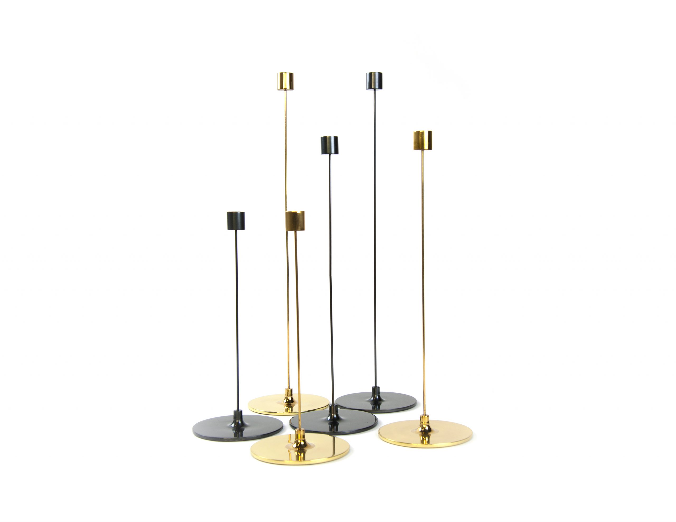 Pin Candle Sticks by Gentner