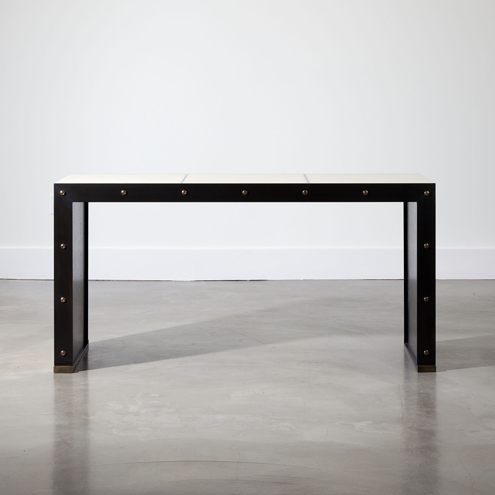 Parchment Axel Console Table