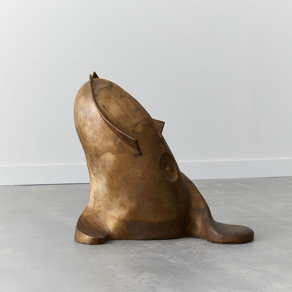 Bronze Fish Sculptureby Biagio Romeo