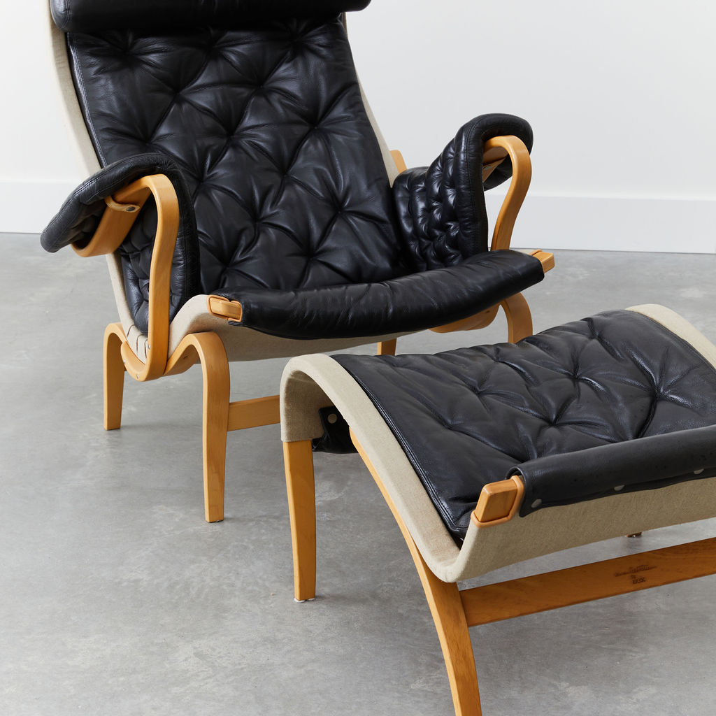 Pernilla Lounge Chair and Ottoman